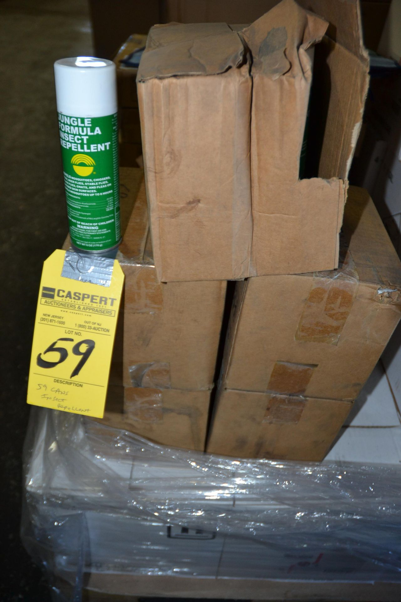 Lot 59 - CANS OF INSECT REPELLENT