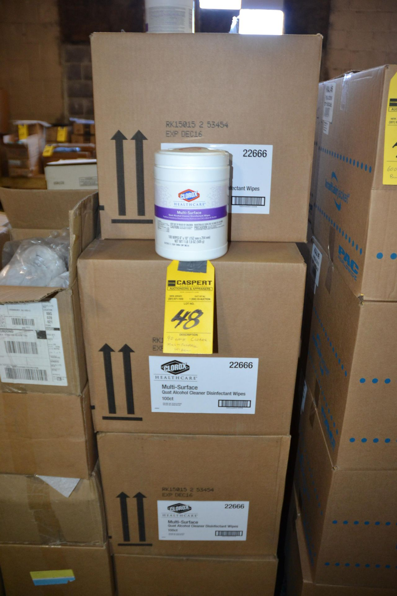 Lot 48 - CLOROX MULTISURFACE WIPES
