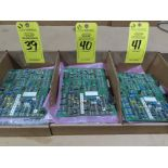 Lot 40 - Qty 3 Altas Copco model 56J033A control boards, as always, with Brolyn LLC auctions, all lots can be
