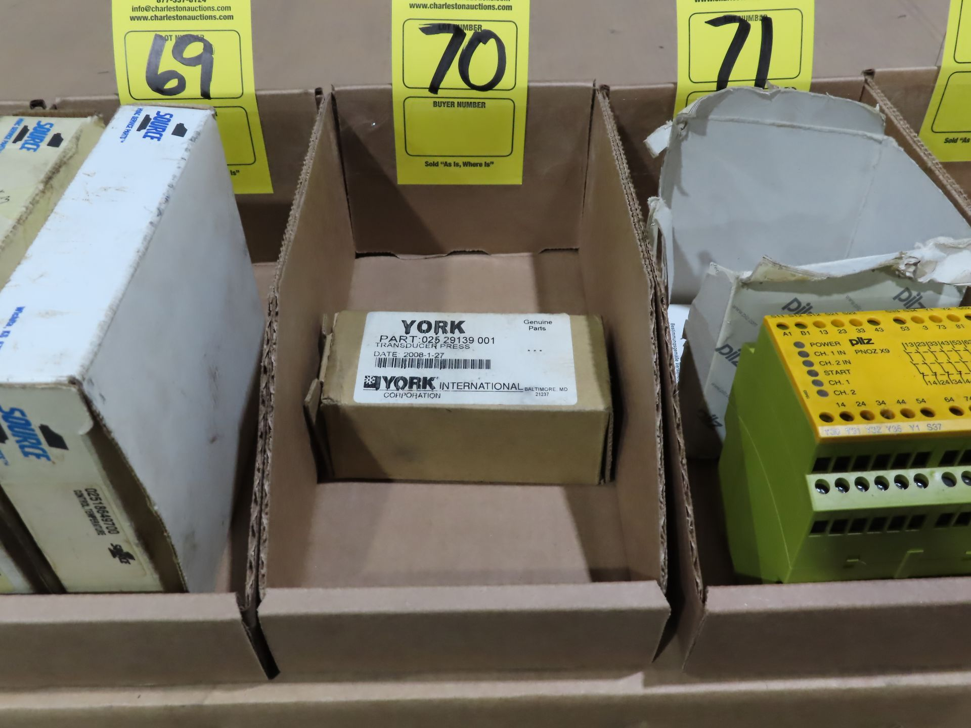 Lot 70 - York part number 025-29139-001, new in box, as always, with Brolyn LLC auctions, all lots can be