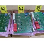 Lot 53 - Qty 3 Altas Copco model 4240-0151-01A replacement servo amp replacement board, as always, with