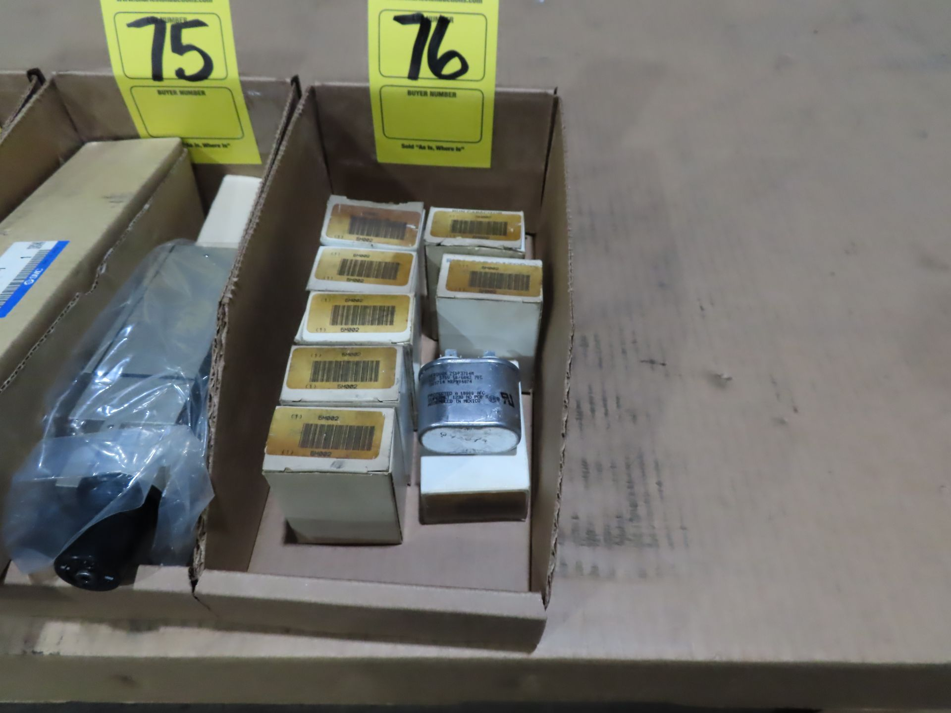 Lot 76 - Qty 8 Aerovox model Z50P3704M, new in boxes, as always, with Brolyn LLC auctions, all lots can be