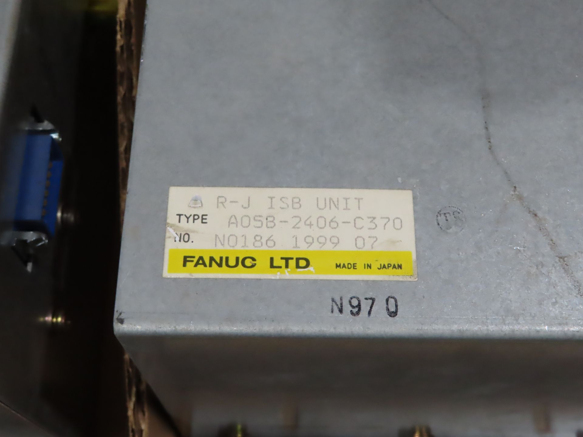 Lot 102 - Fanuc ISB unit model A05B-2406-C370, as always, with Brolyn LLC auctions, all lots can be picked