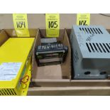 Lot 105 - Universal Flow monitors mode 3850-A-1, appear to be new with shelf wear and markings, as always,