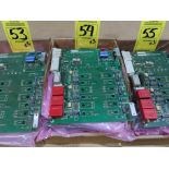 Lot 54 - Qty 3 Altas Copco model 4240-0151-01A replacement servo amp replacement board, as always, with