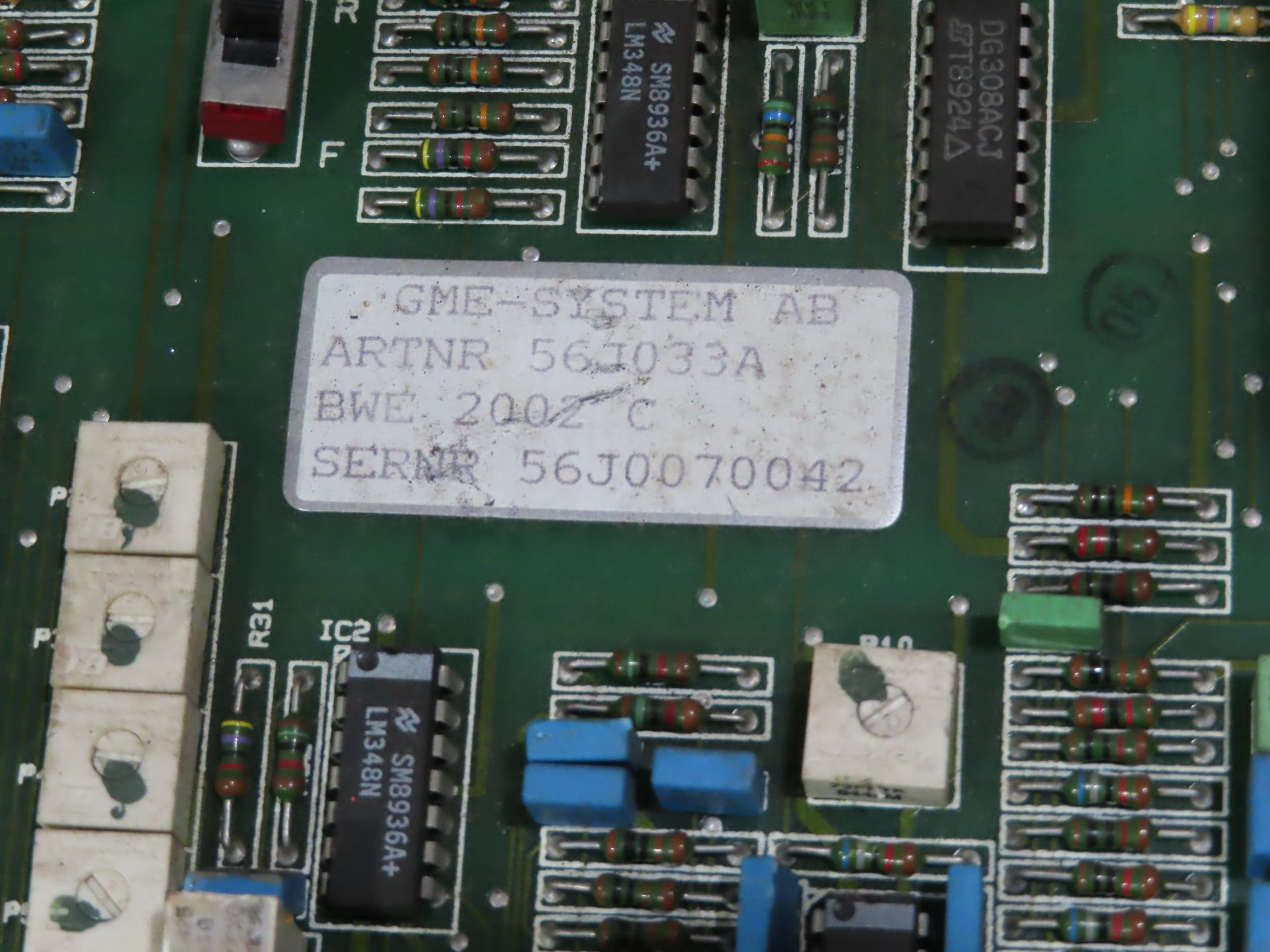 Lot 45 - Qty 3 Altas Copco model 56J033A control boards, as always, with Brolyn LLC auctions, all lots can be