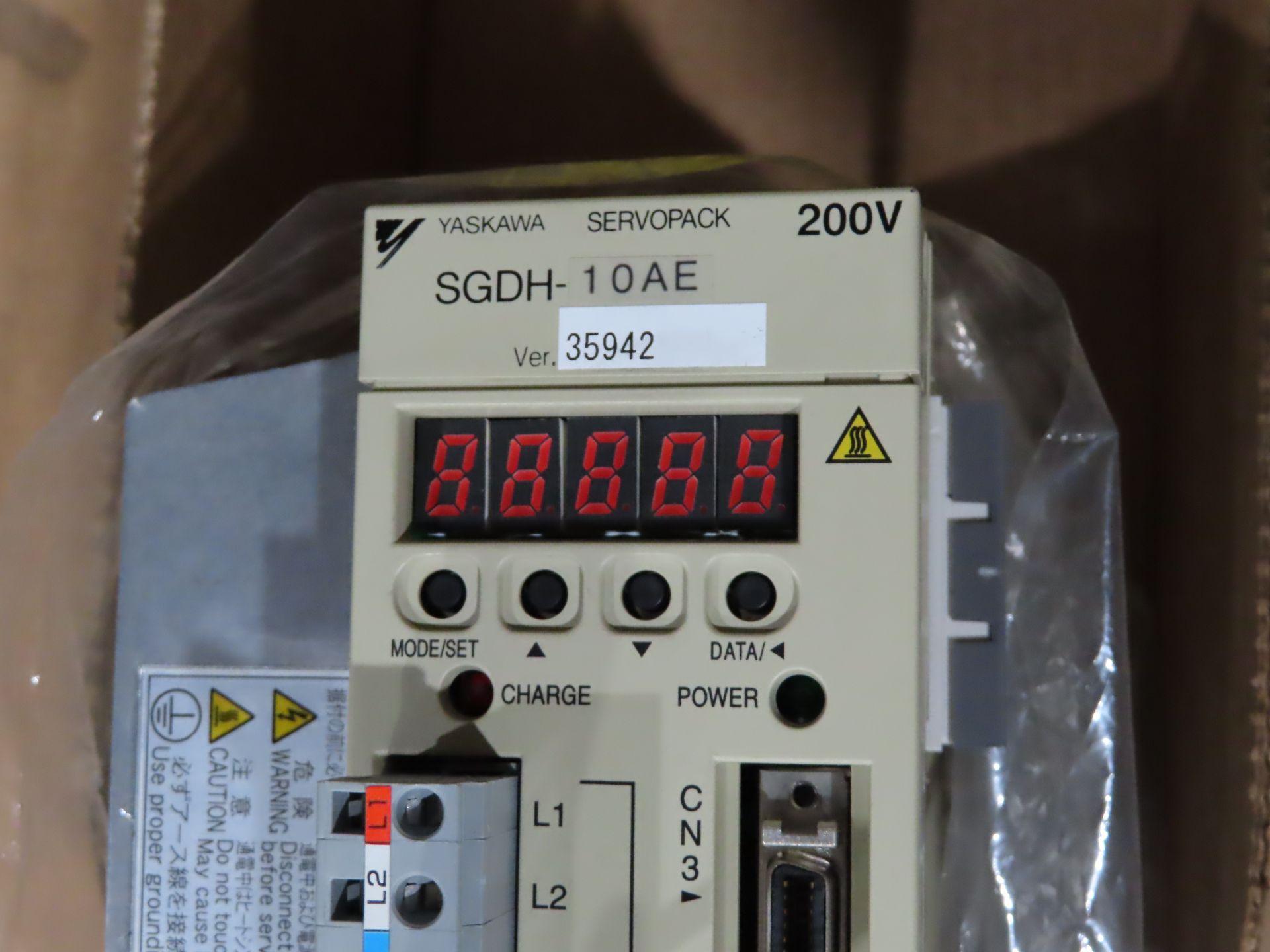 Lot 5 - Yaskawa servopack model SGDH-10AE, appears new in plastic, as always, with Brolyn LLC auctions,