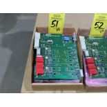 Lot 51 - Qty 3 Altas Copco model 4240-0151-01A replacement servo amp replacement board, as always, with