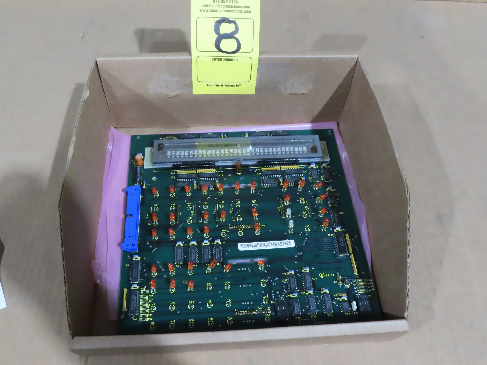 Lot 8 - Indramat control board model 109-468-3201b-4, as always, with Brolyn LLC auctions, all lots can be