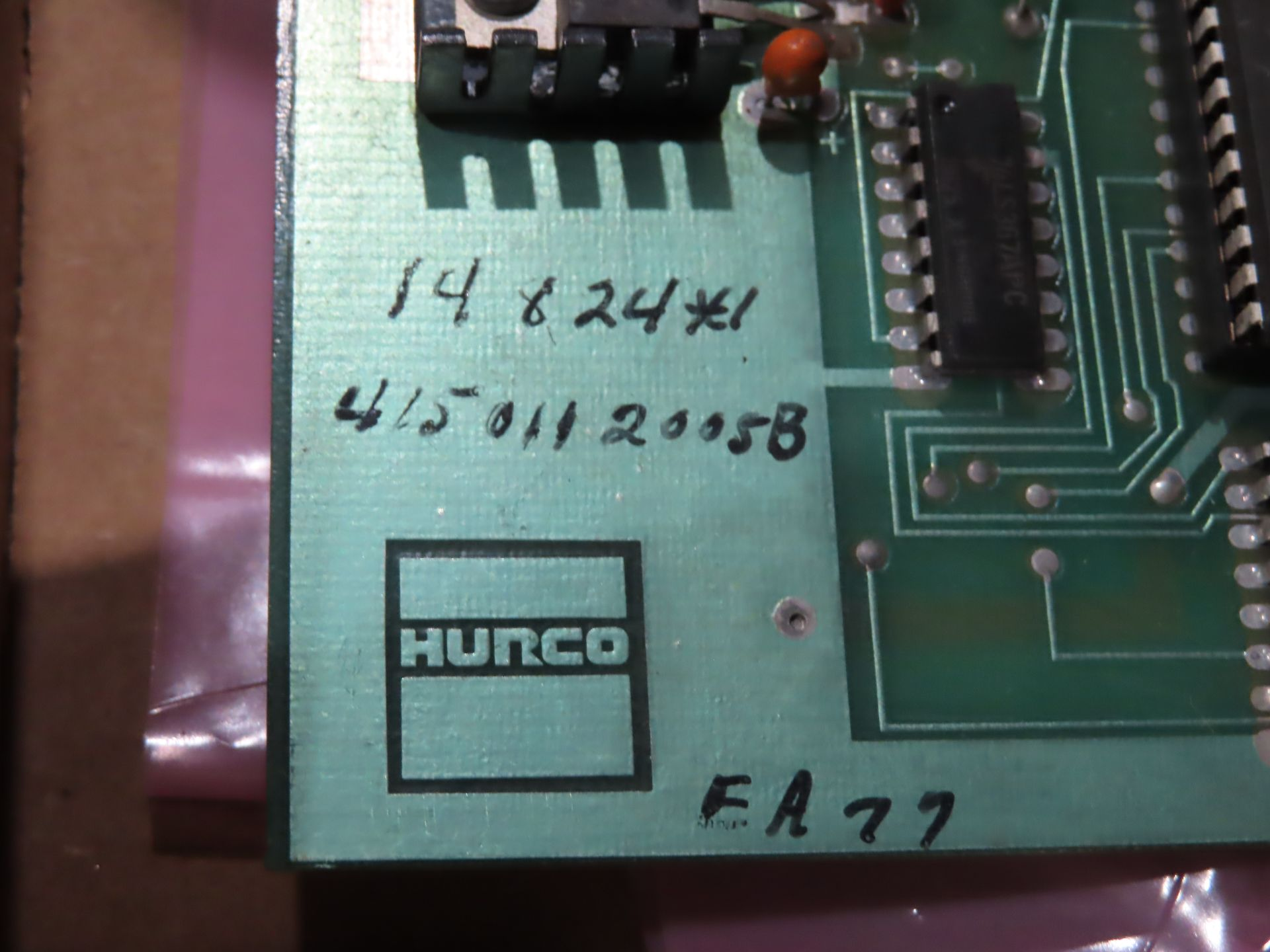Lot 36 - Hurco model 4140031001B processor board, as always, with Brolyn LLC auctions, all lots can be picked
