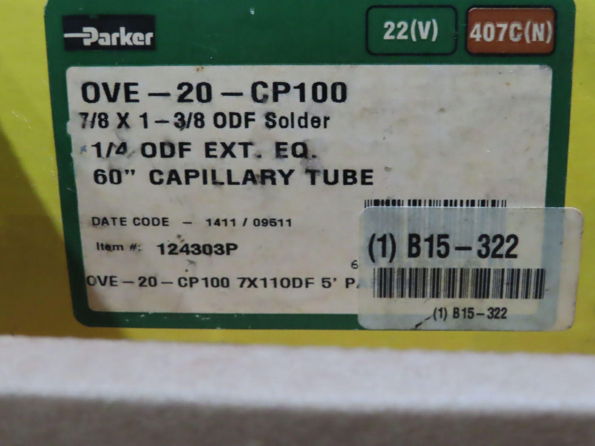Lot 28 - Parker model OVE-20-CP100, new in box, as always, with Brolyn LLC auctions, all lots can be picked