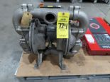 """Lot 724 - Warren Rupp Sandpiper 2"""" pump, model SA2-A, as always, with Brolyn LLC auctions, all lots can be"""