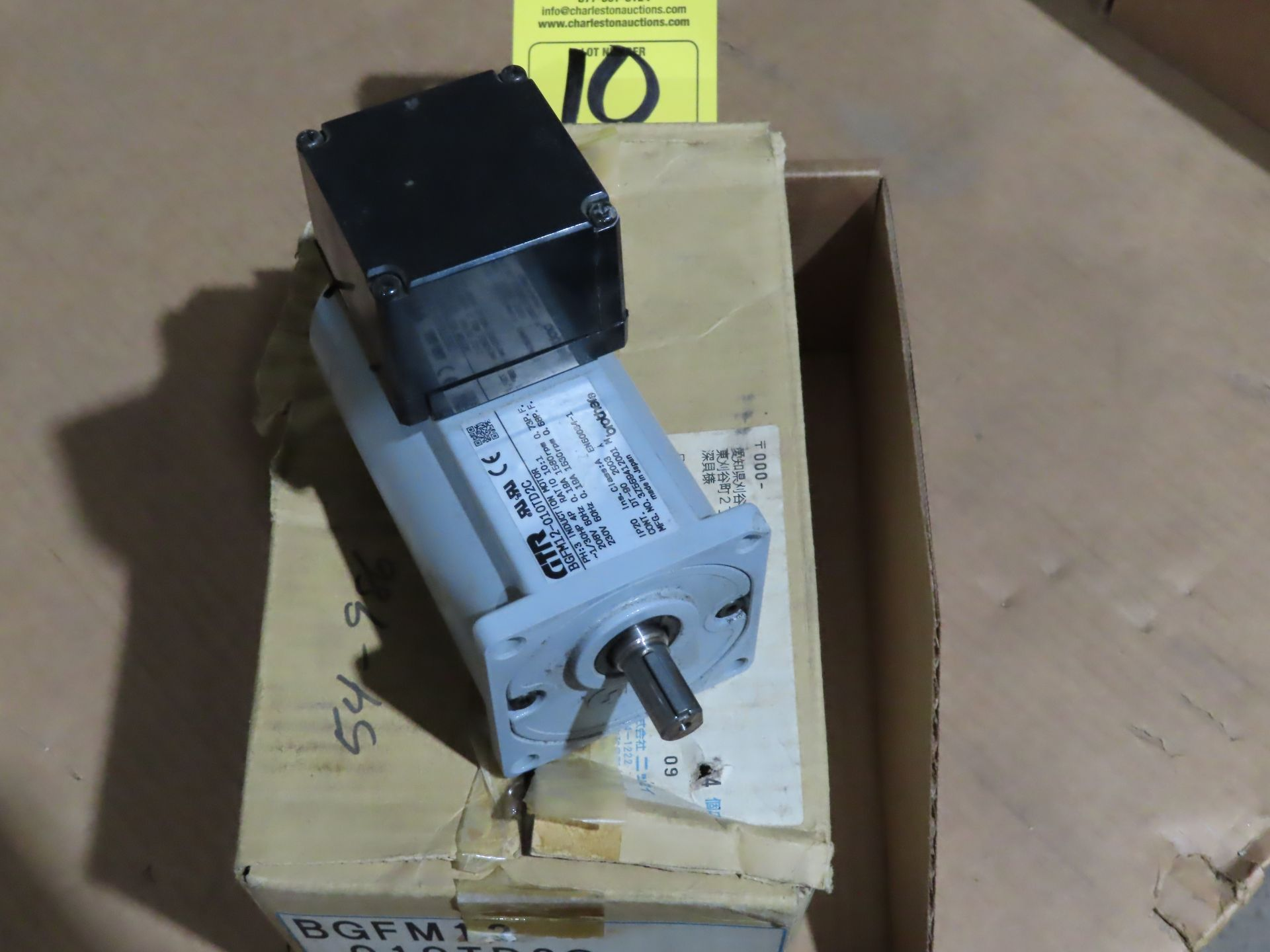 Lot 10 - Brother gear motor model BGFM12-010TD2C, new in box, as always, with Brolyn LLC auctions, all lots