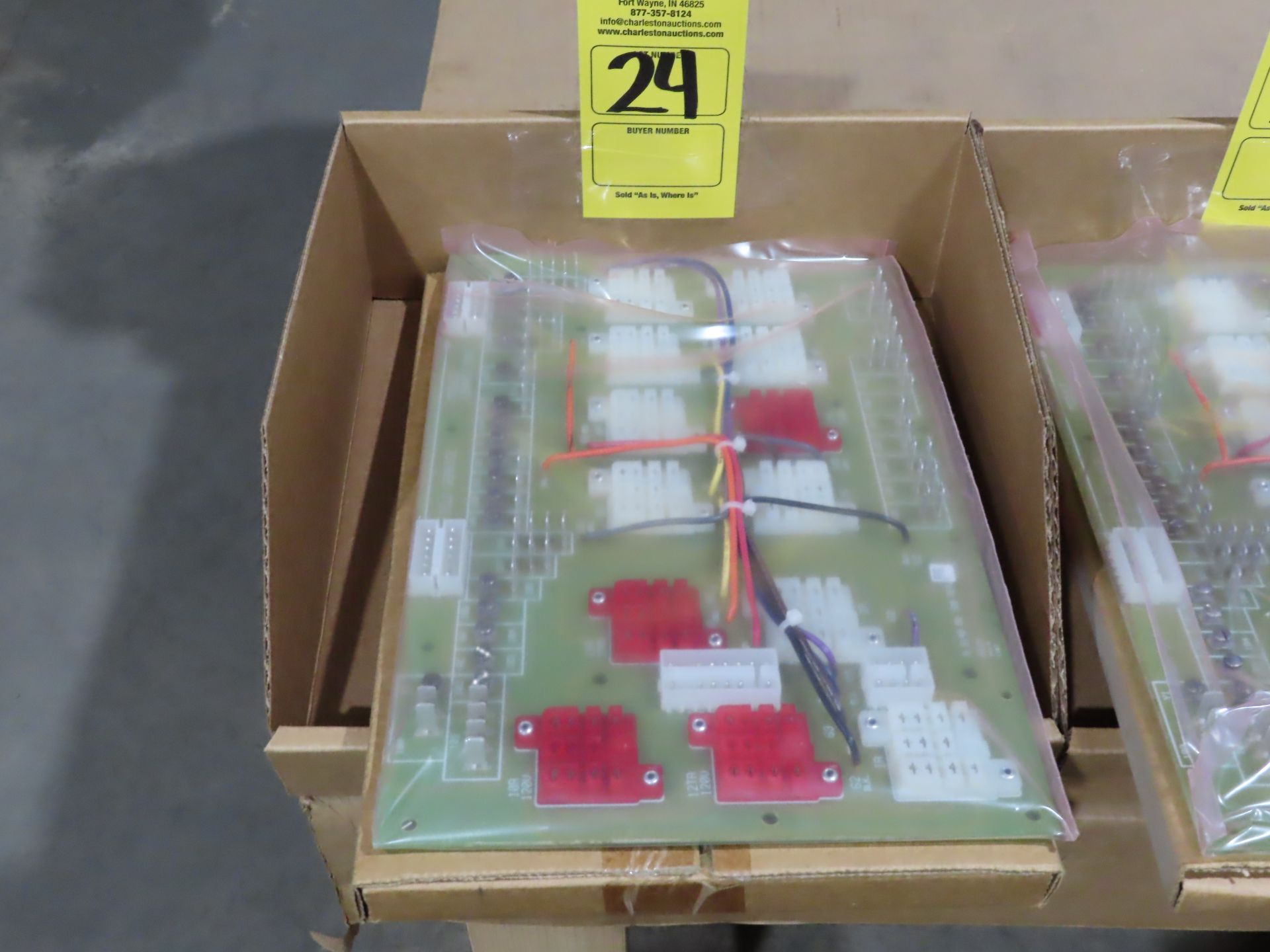 Lot 24 - York / Potter Brumfield Model 031-00254C replacement circuit boards, appears new, as always, with