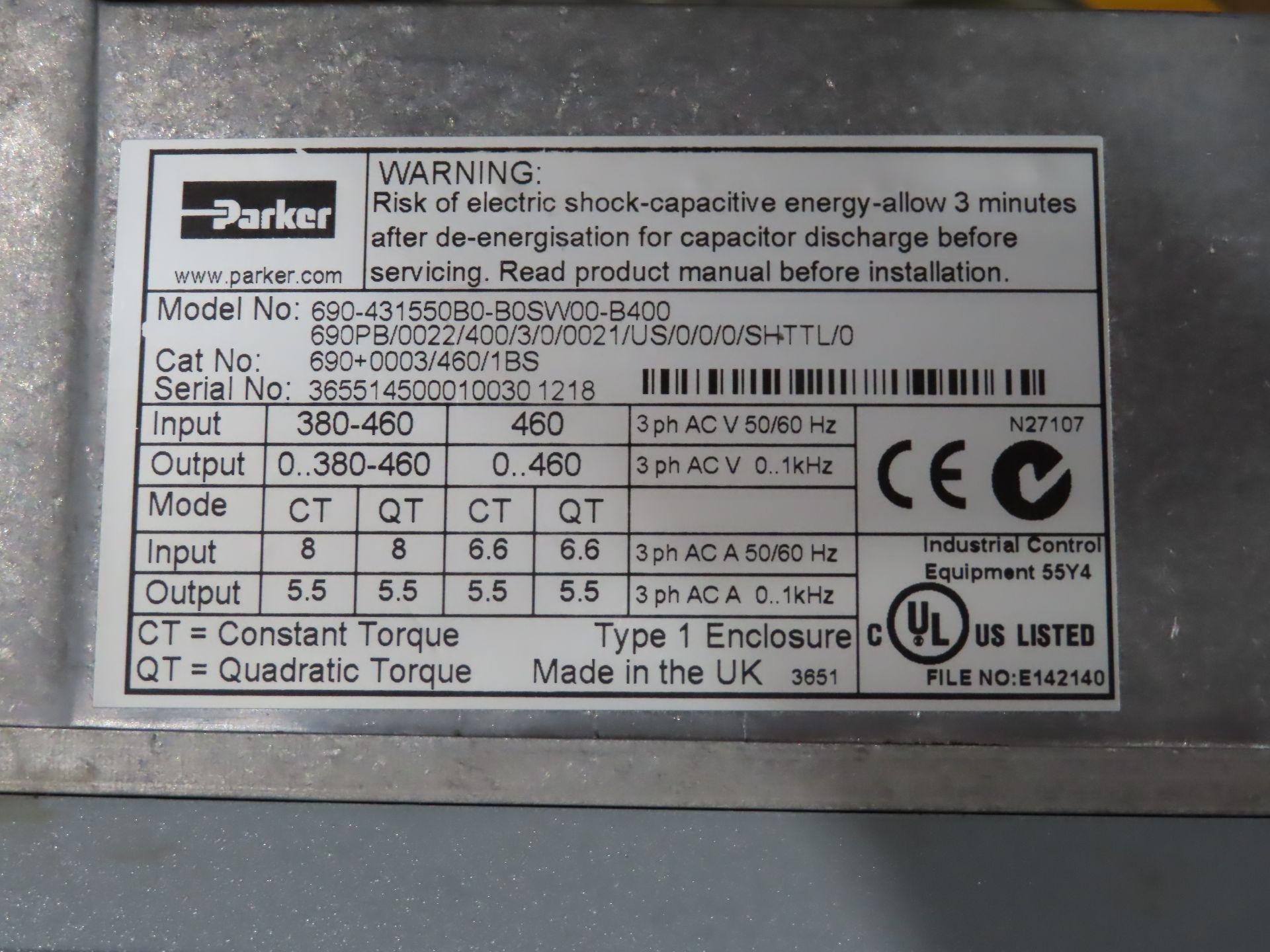 Lot 2 - Parker drive model 690-431550B0-B0SW00-B00, catalog 690+0003/460/1BS, as always, with Brolyn LLC
