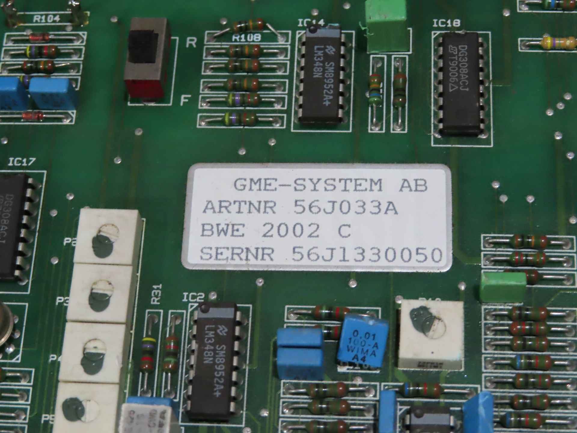 Lot 41 - Qty 3 Altas Copco model 56J033A control boards, as always, with Brolyn LLC auctions, all lots can be