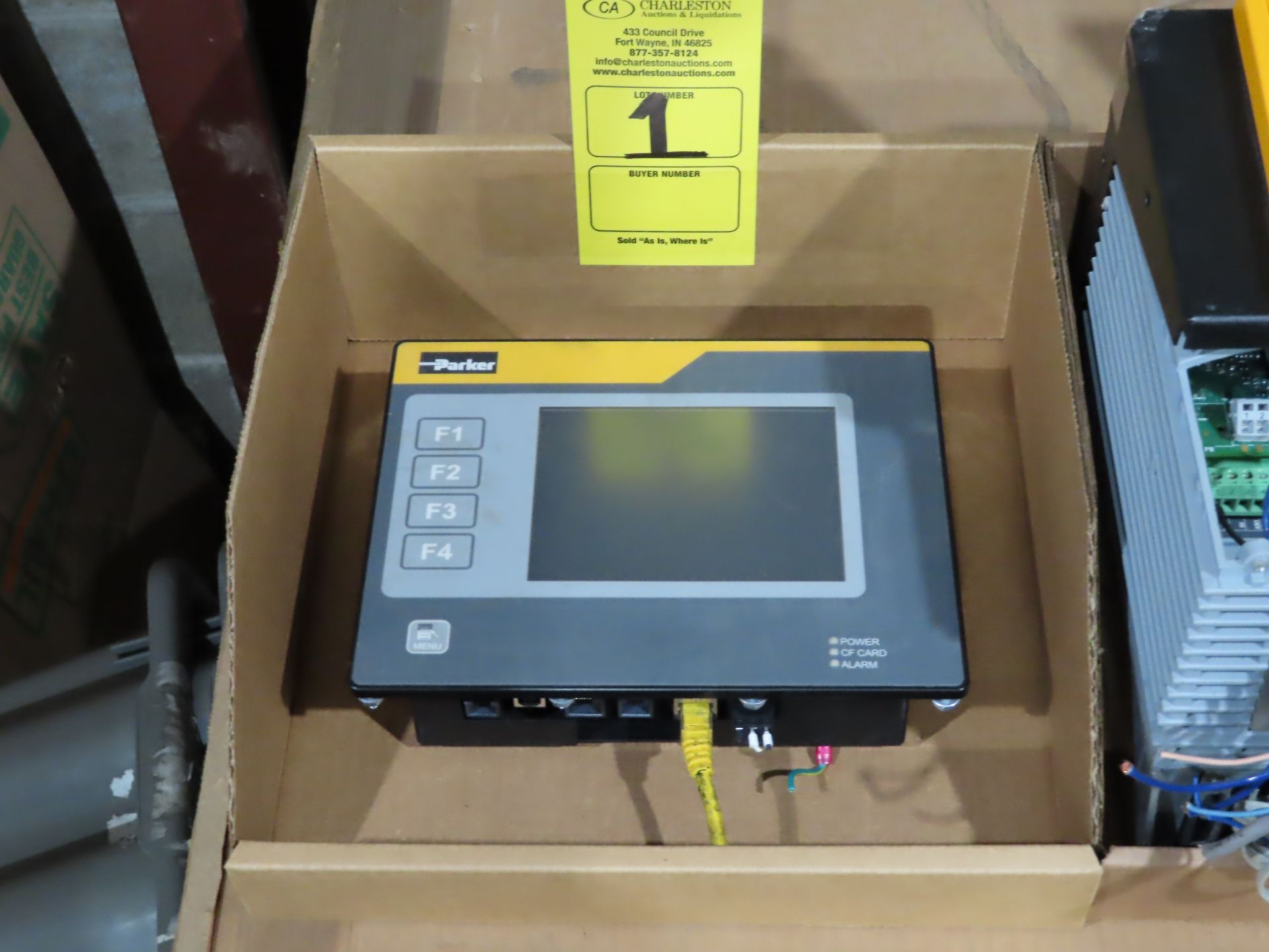 Lot 1 - Parker user interface model TS8006/00/00, as always, with Brolyn LLC auctions, all lots can be