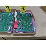 Lot 50 - Qty 3 Altas Copco model 4240-0151-01A replacement servo amp replacement board, as always, with