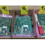 Lot 46 - Qty 3 Altas Copco model 56J033A control boards, as always, with Brolyn LLC auctions, all lots can be