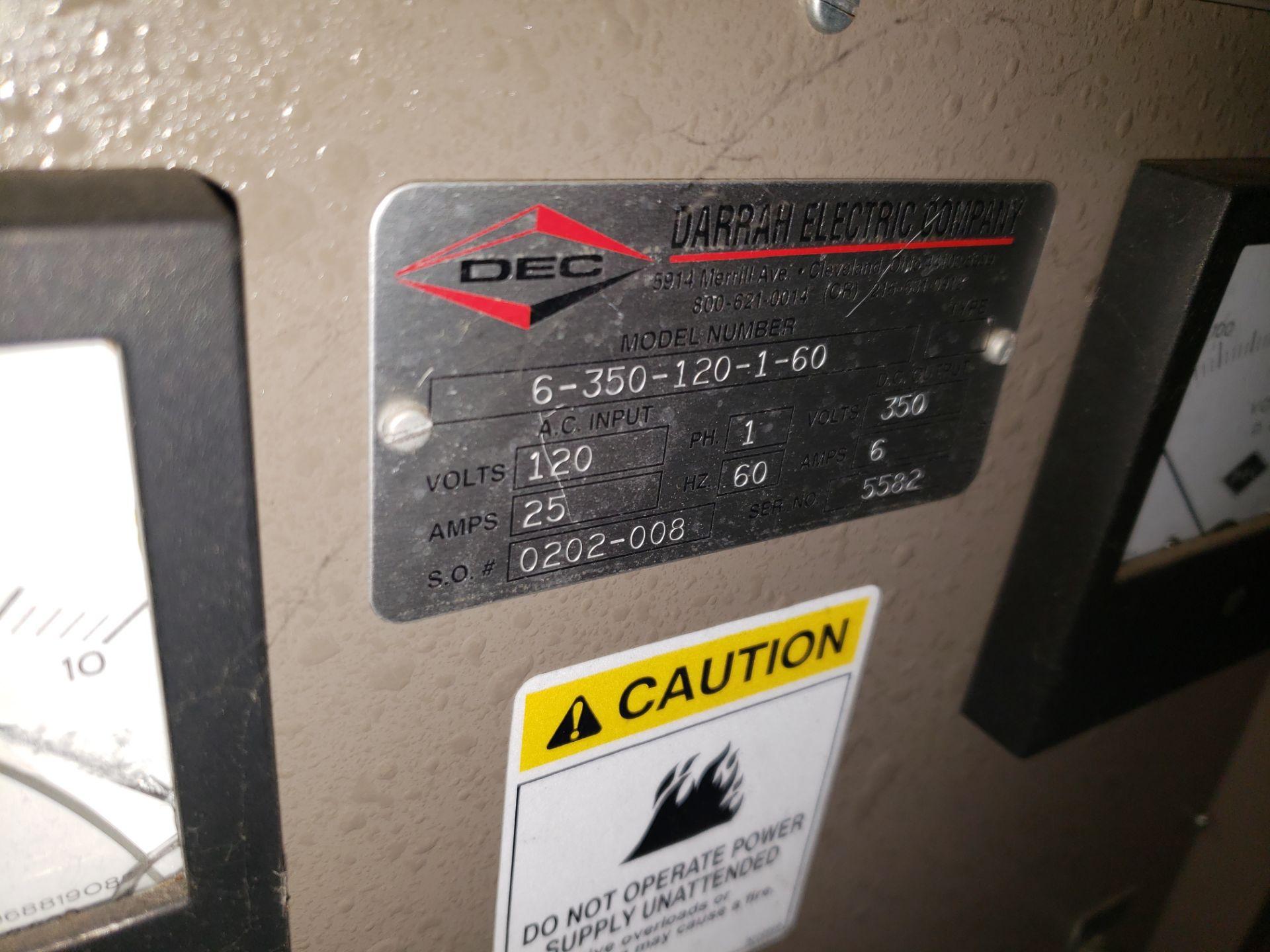 Lot 27 - (2) DEC POWER SUPPLY MODEL-6-1350-12-1-60