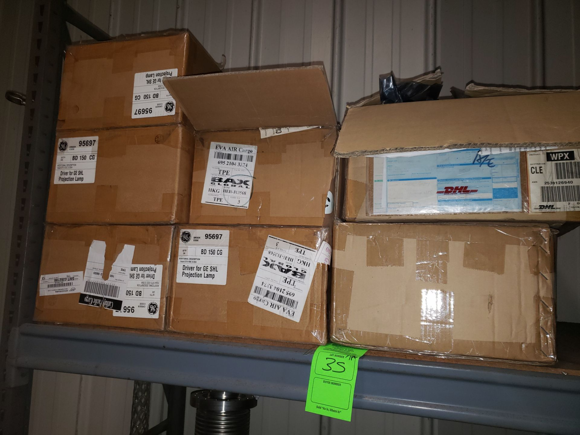 Lot 35 - APPROX (170) GE DRIVE FOR SHL PROJECTION LAMP