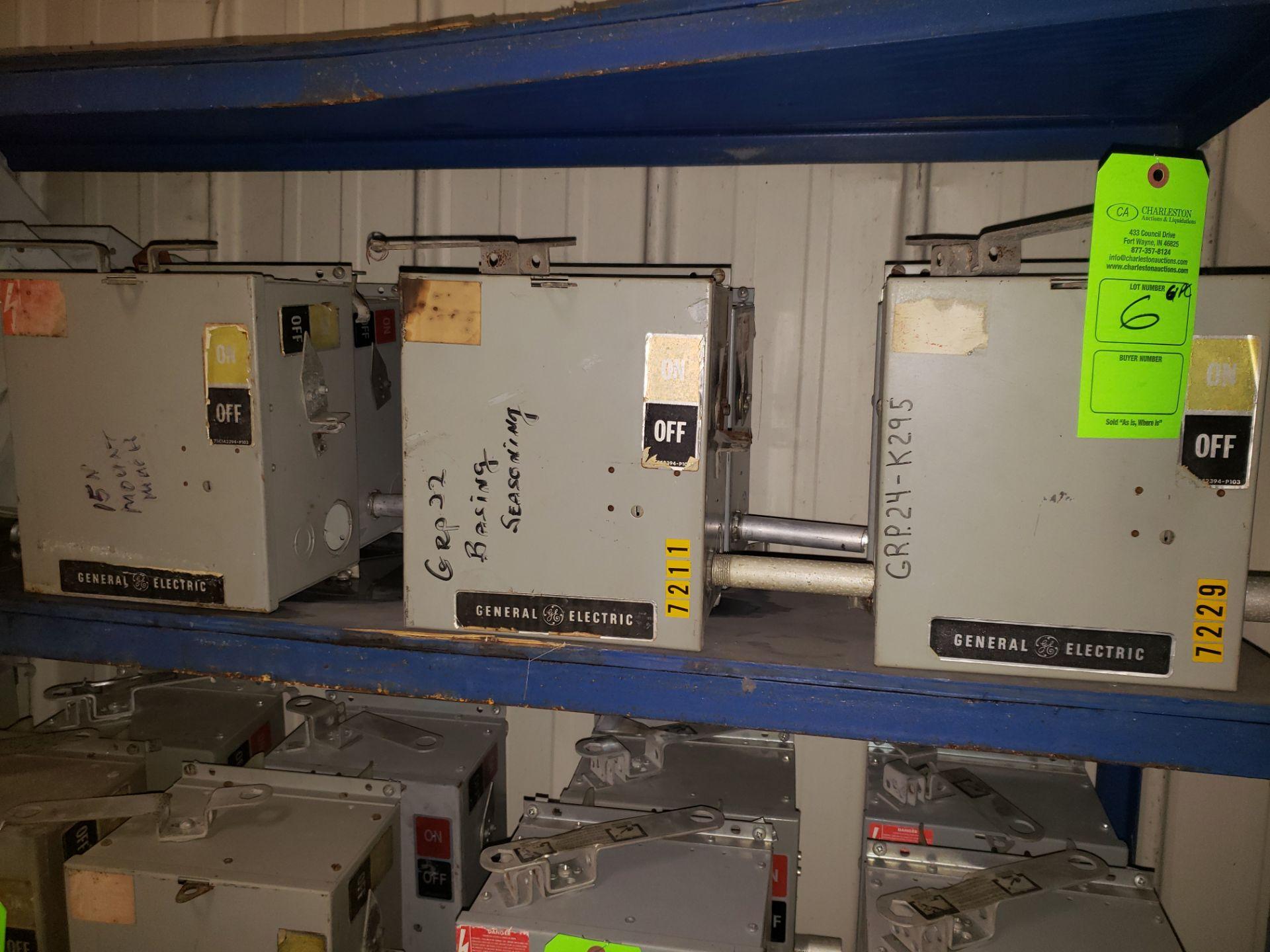 Lot 6 - (6) GE BUSS PLUGS FLEX APLUG 600V/30AMP/3PH
