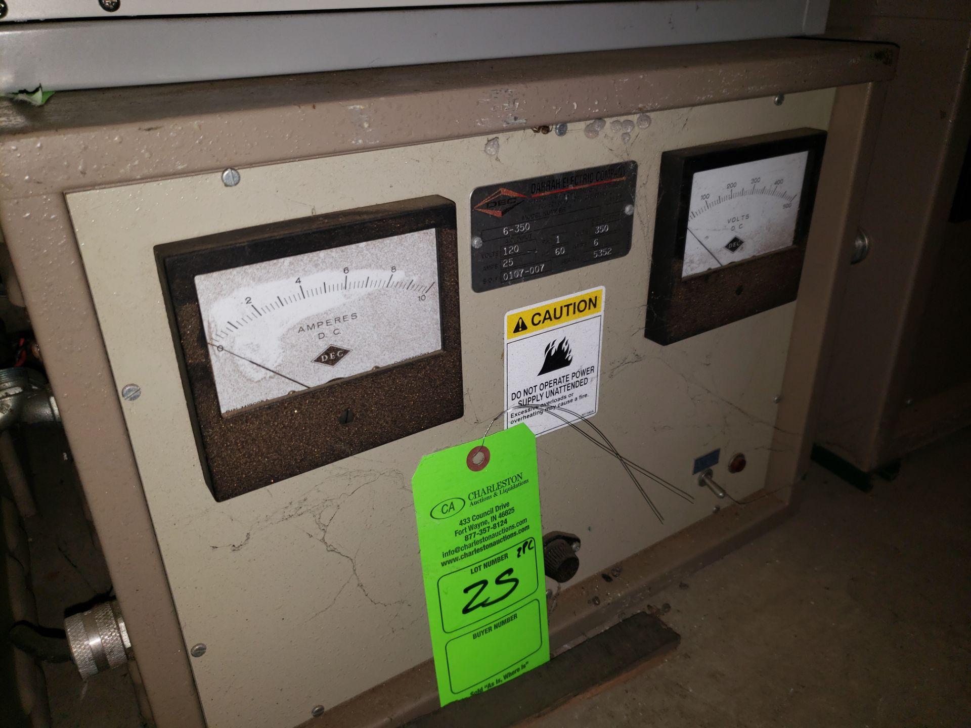Lot 25 - (2) DEC POWER SUPPLY MODEL-6-1350-12-1-60