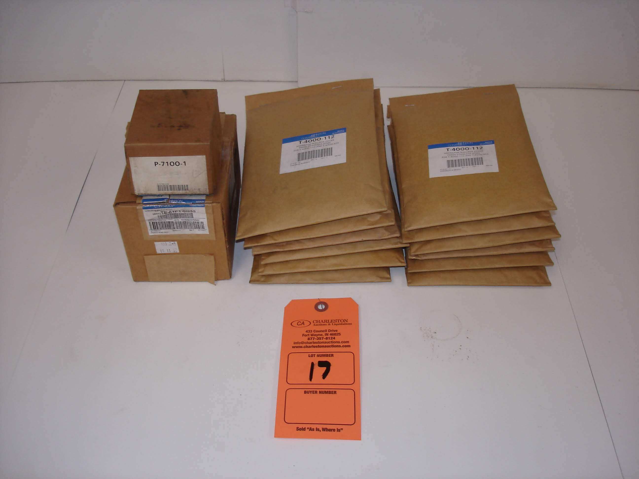 Lot 17 - (14) MISC JOHNSON CONTROLS REPLACEMENT KITS: JOHNSON CONTROLS P-7100-1 AND ALL OTHER ITEMS