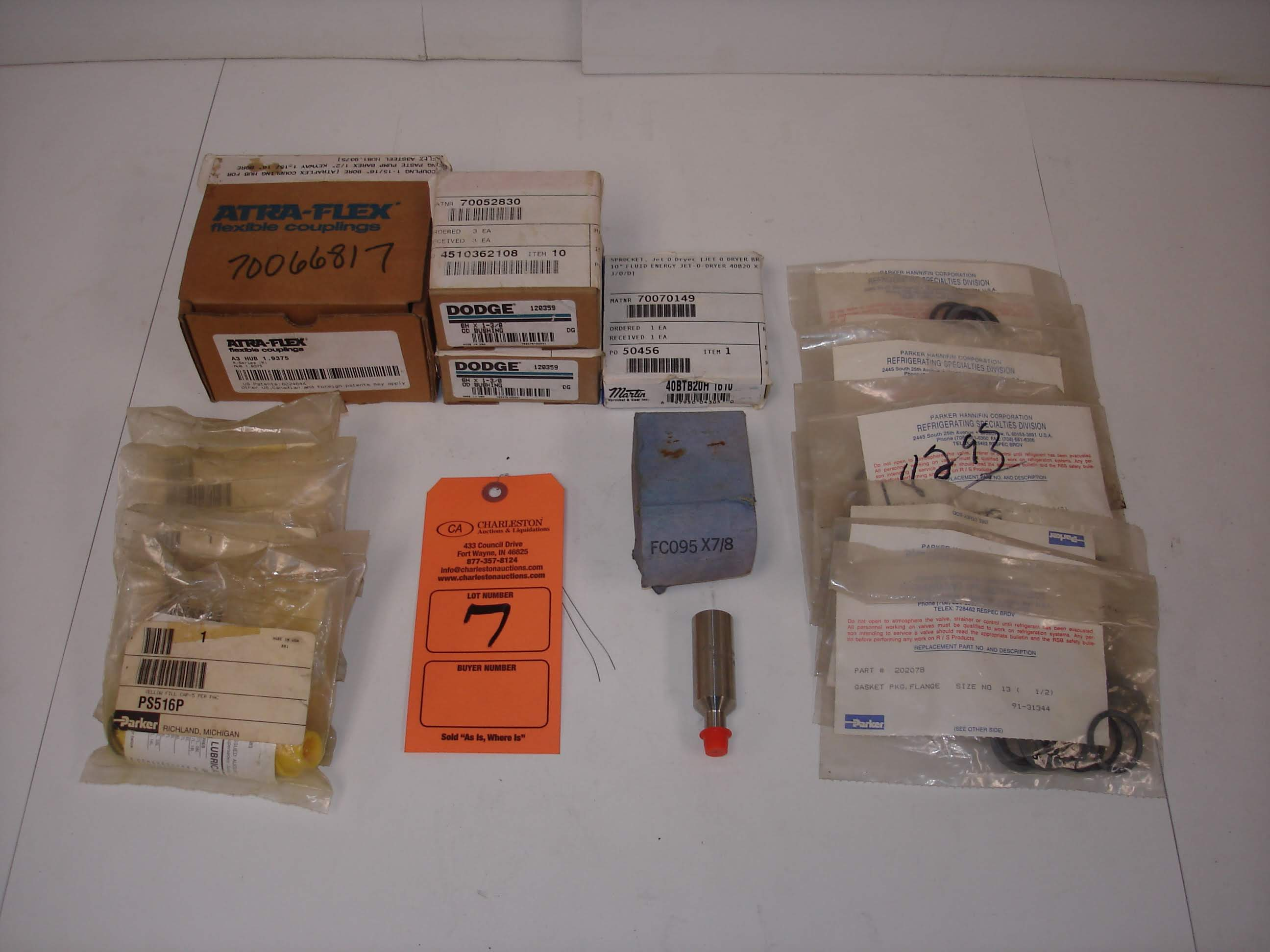 Lot 7 - (15+) MISC BRANDED SEAL KITS AND MORE: NEW MARTIN 40BTB20H AND ALL OTHER ITEMS INCLUDED IN PHOTOS!