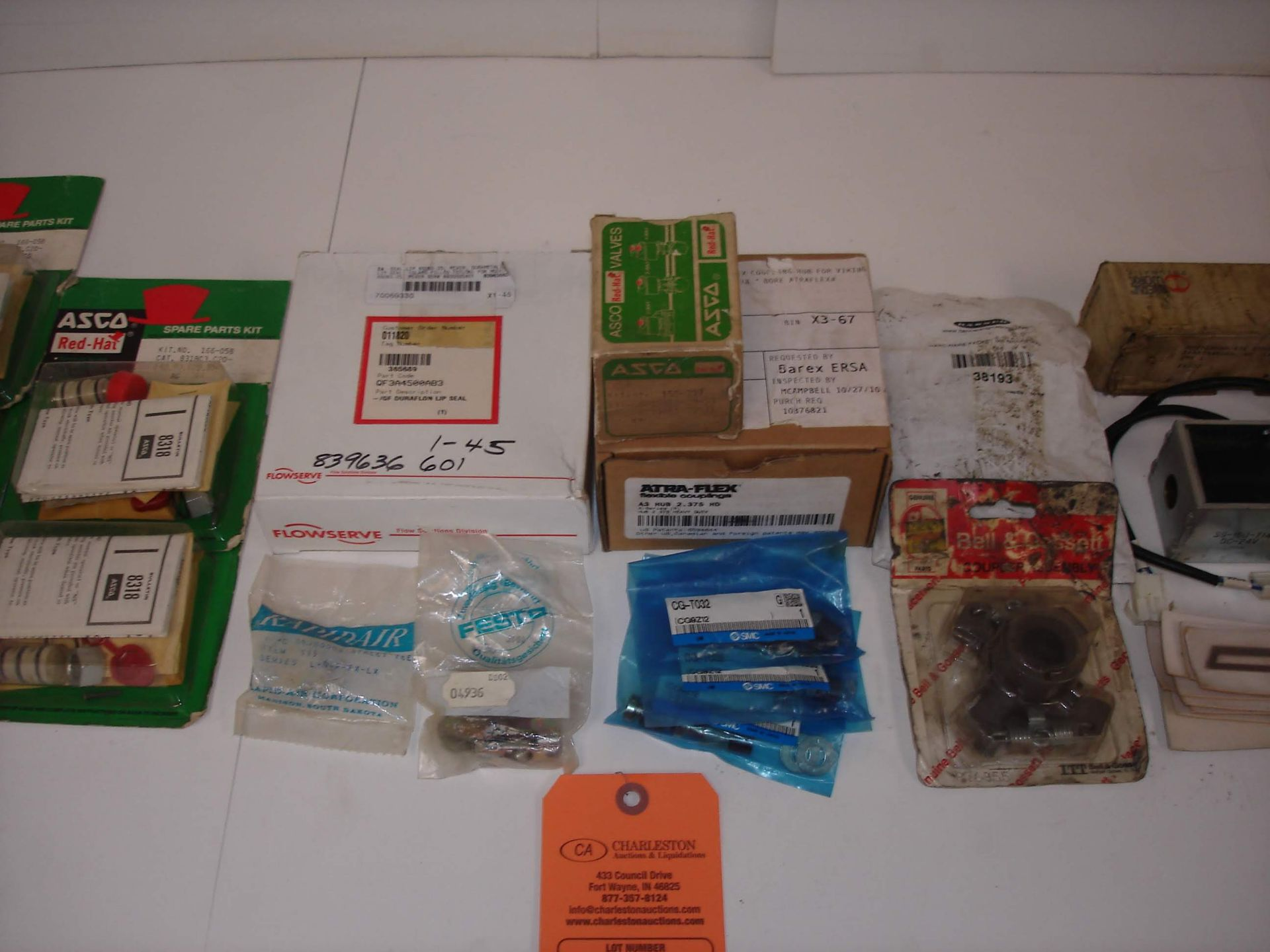 Lot 11 - (20+) MISC BRANDED PARTS KITS: ATRA-FLEX A3 HUB COUPLING AND ALL OTHER ITEMS INCLUDED IN PHOTOS!