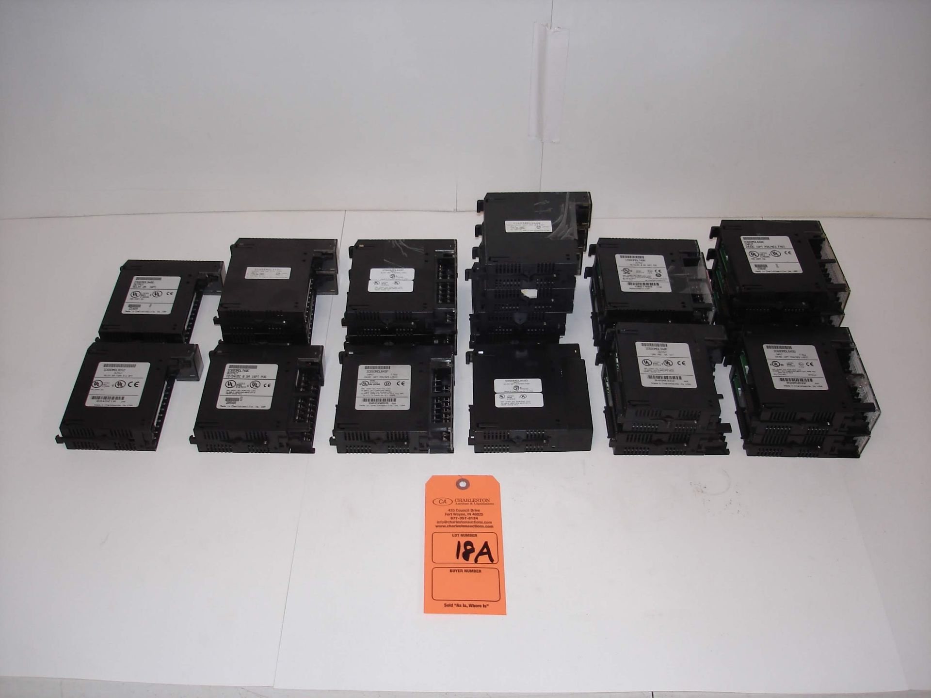 Lot 18A - (20+) MISC GE FANUC INPUT/OUTPUT MODULES: GENERAL ELECTRIC IC693MDL645C INPUT MODULE AND ALL OTHER