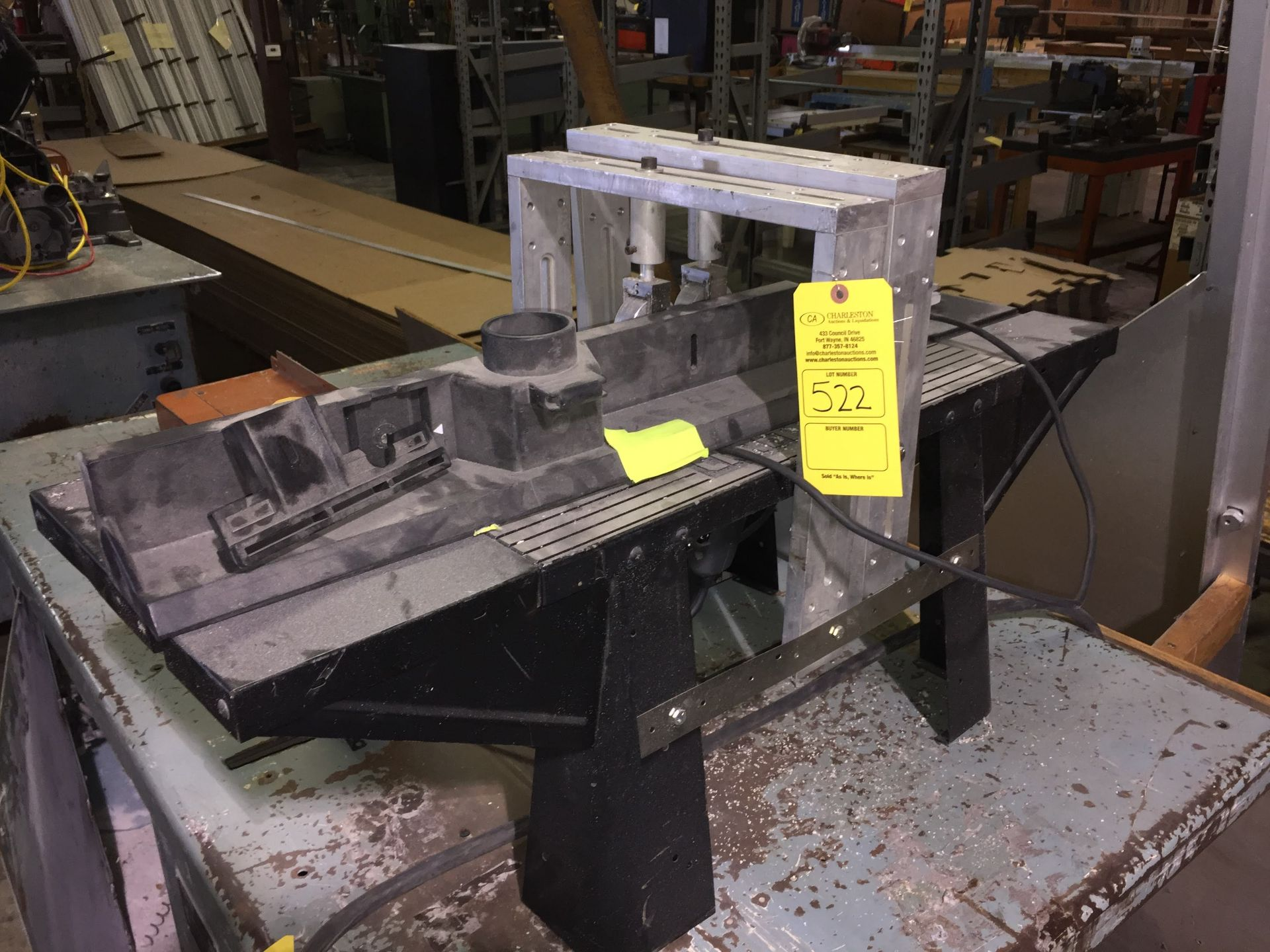 Lot 522 - CRAFTSMAN ROUTER