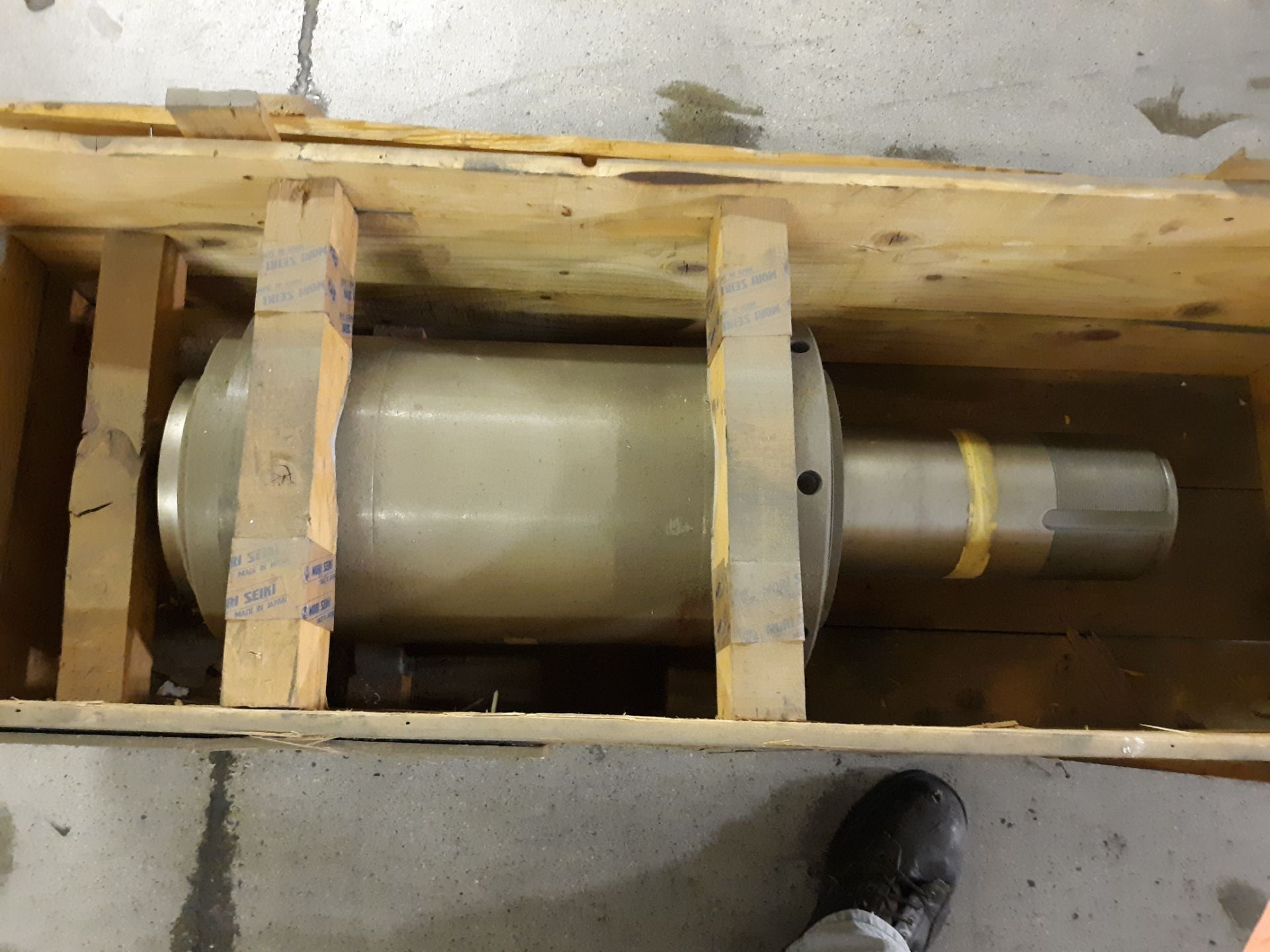 Lot 11 - MORI SEIKI SPINDLE MH 63.80 (LOCATED AT: 570 S. MAIN STREET, CHURUBUSCO, IN 46723) RIGGING FEE: $10