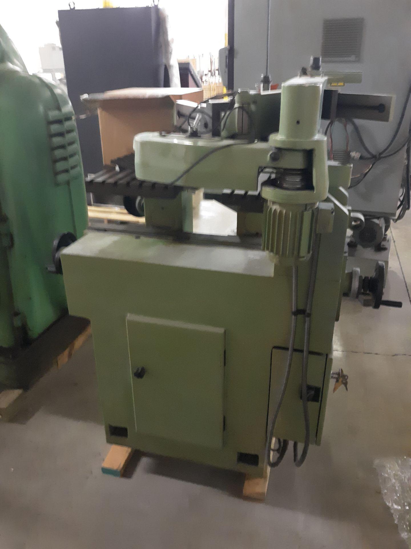 Lot 43 - BASIC MACHINE TOOLS ENGRAVER W/ CHARACTORS MACHINE W/INSERT PATTERNS; RIGGING FEE: $10