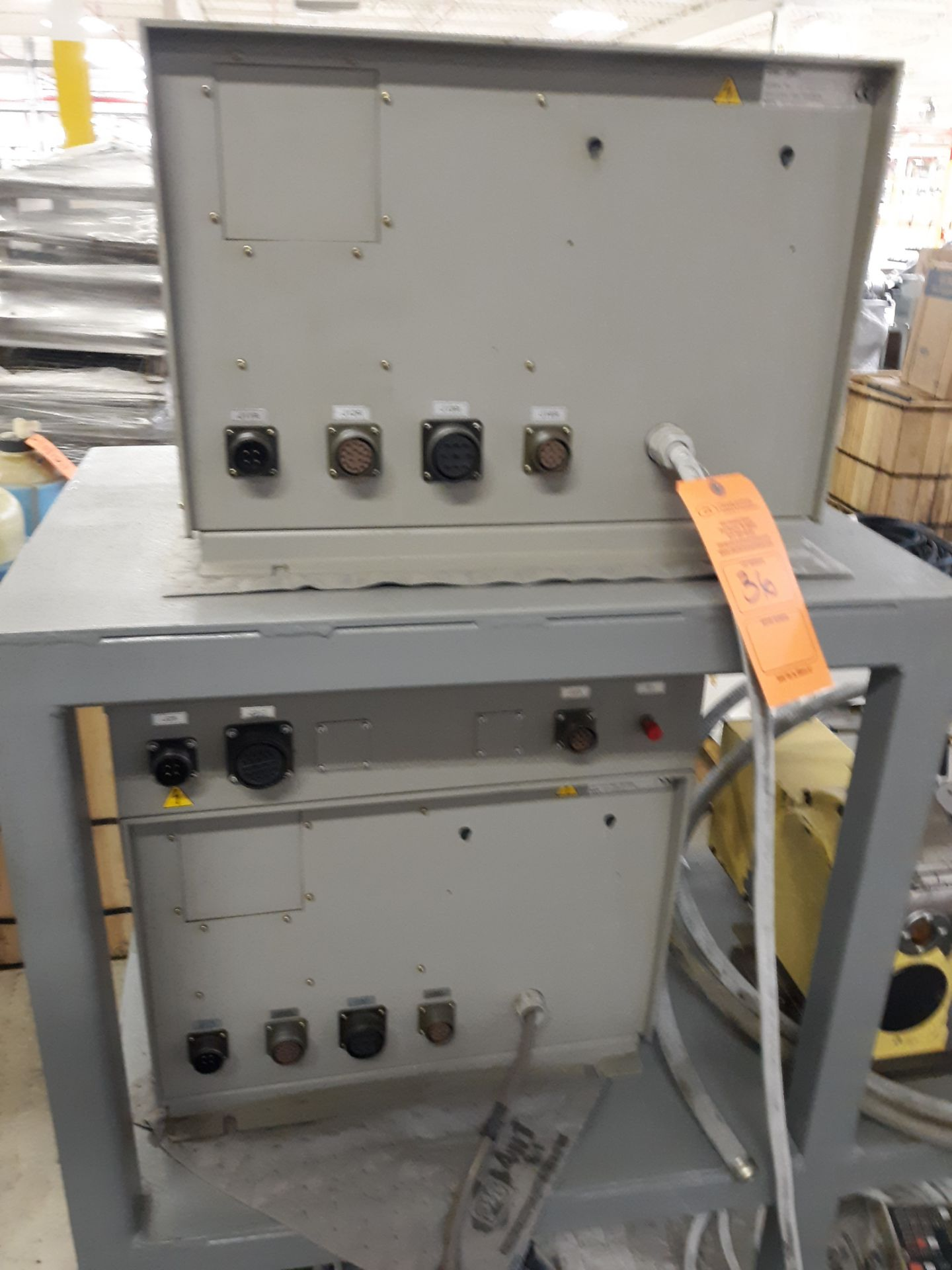 Lot 36 - NIKKEN ROTARY TABLE W/CABLES W/(2) CONTROL UNITS & (1)NIKKEN KEYPADS RIGGING FEE:$10