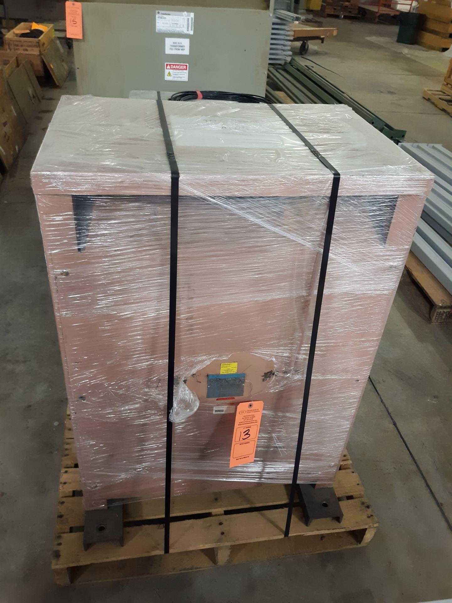 Lot 13 - WESTINGHOUSE TRANSFORMER MODEL-DT-3 112.5 KVA/3PH/60HZ CLASS AA: RIGGING FEE: $10