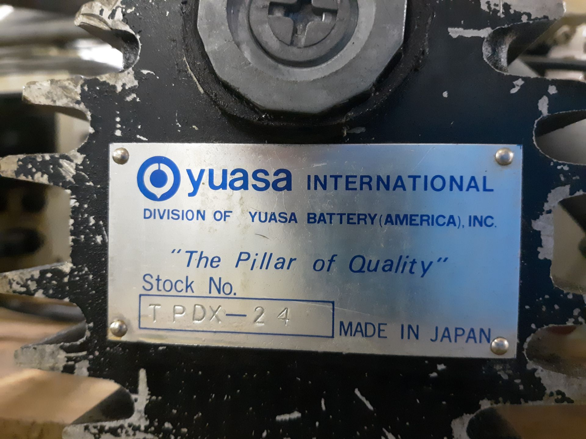 Lot 25 - (2) YUASA ROTARY TABLE INDEX CONTROLLER: RIGGING FEE: $10
