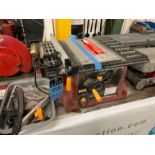 """Lot 130 - 10"""" CHICAGO ELECTRIC BENCH TOP TABLE SAW"""