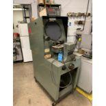 Lot 114 - CLAUSING MODEL 4311 OPTICAL COMPARATOR; S/N 430509, QUADRACHECK II DRO
