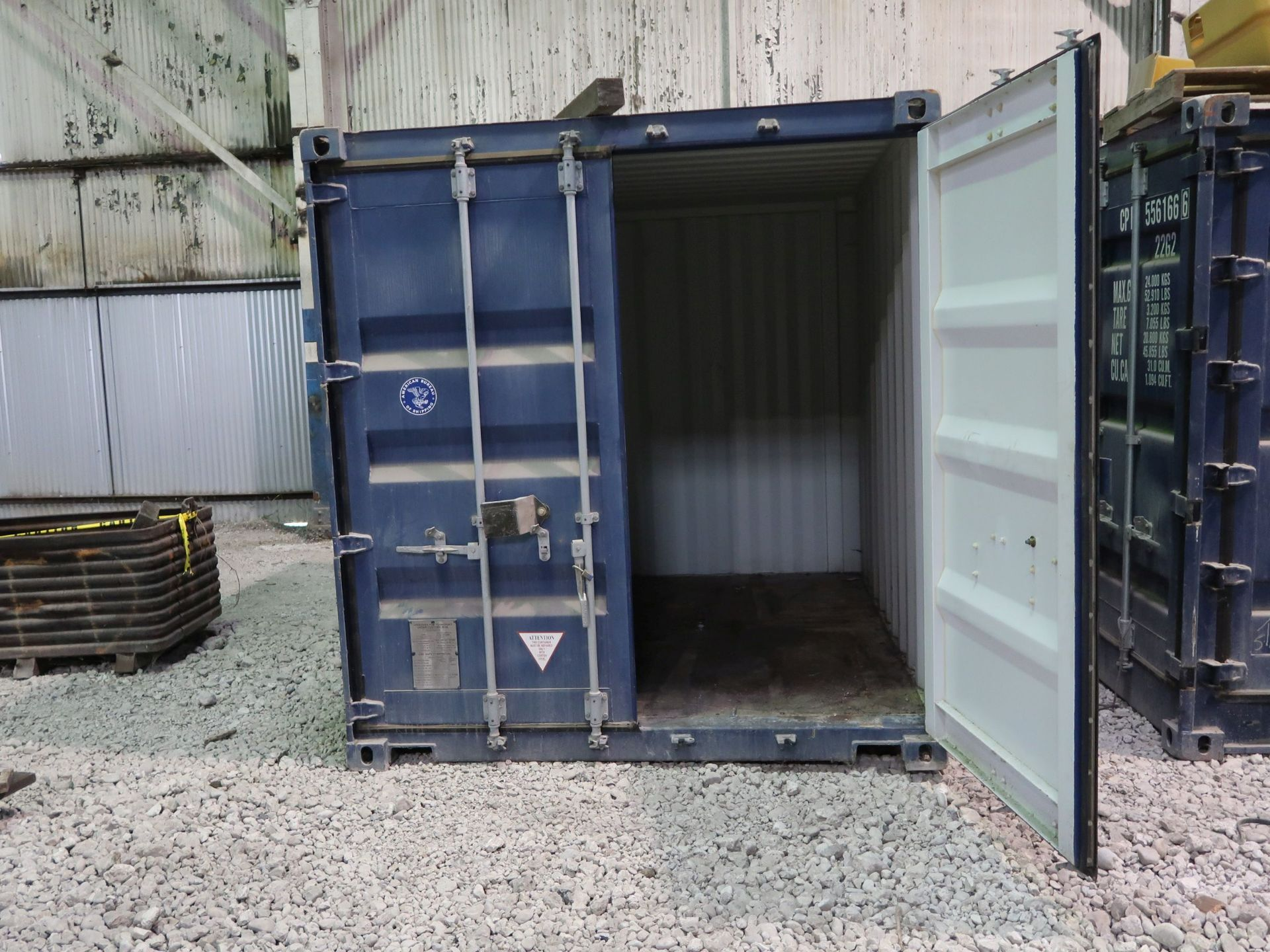 Lot 272 - 8' X 20' CONTAINER PROVIDERS INTERNATIONAL CONEX CONTAINER; NO. 182291 (NEW 2007)