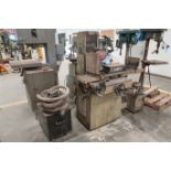 """8"""" X 16"""" KENT MODEL KGS-250AH HYDRAULIC SURFACE GRINDER; S/N 781202-17 WITH DUST COLLECTOR"""