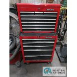 2 PC. PORTABLE CRAFTSMAN TOOL BOX WITH TOOLS