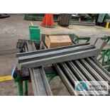"""SECTION DOUBLE SIDED CANTILEVER RACK, 142"""" TALL, (8) 36"""" ARMS"""