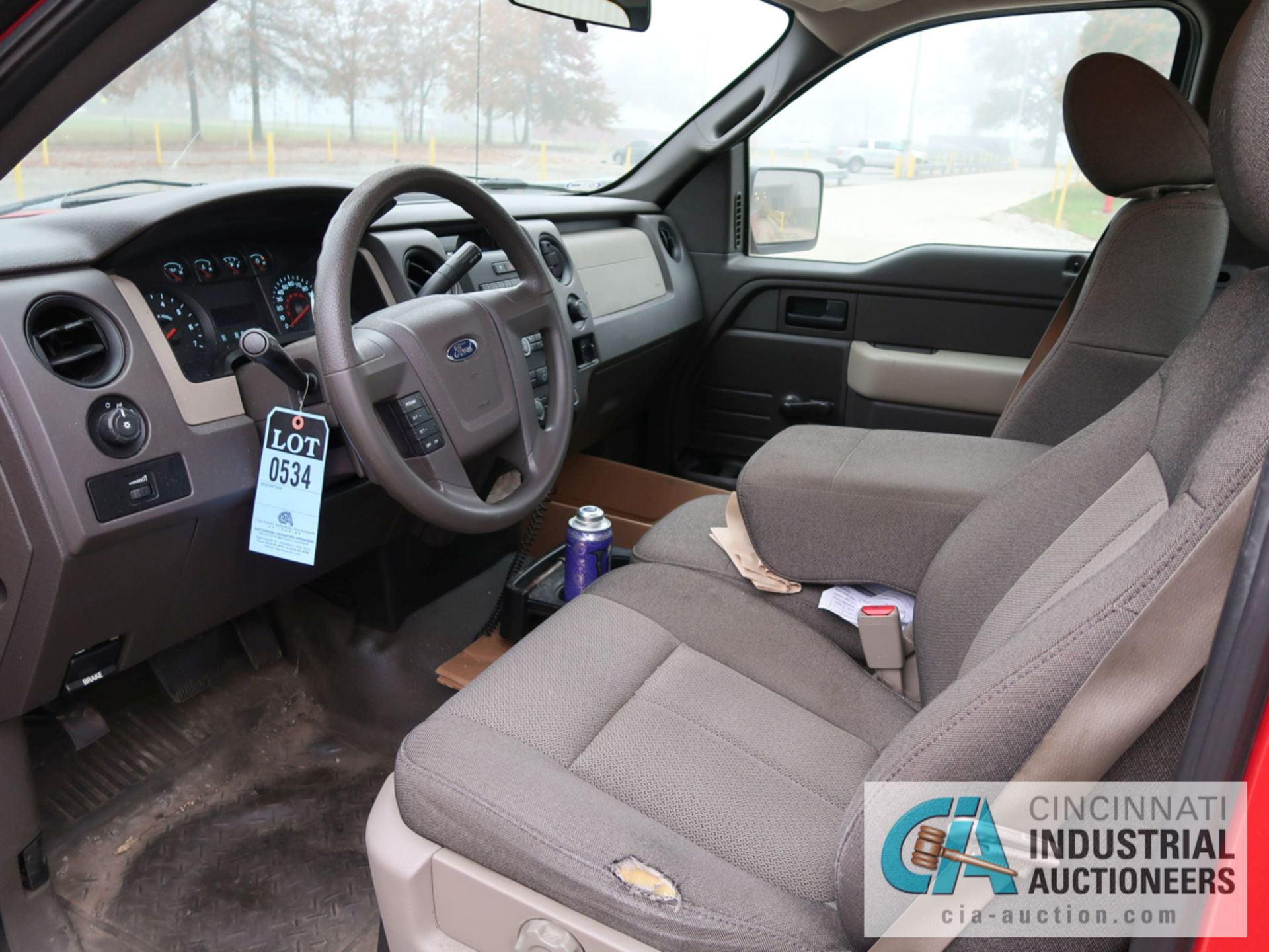 Lot 534 - 2010 FORD F-150 PICK UP TRUCK; VIN # 1FTMF1CW3AKE02719, 4.62 TRITON GAS ENGINE, AUTOMATIC