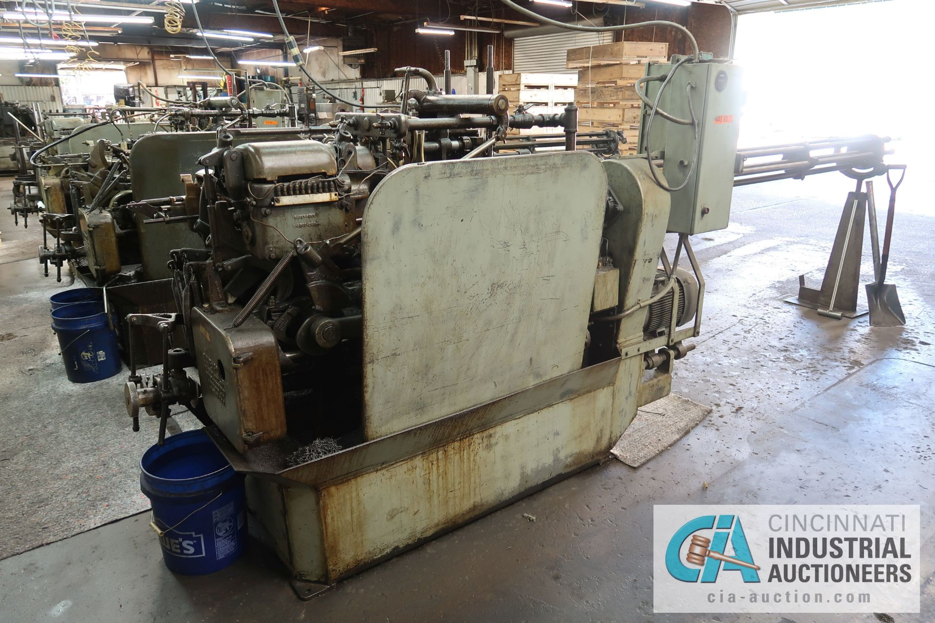 """3/4"""" DAVENPORT 5-SPINDLE SCREW MACHINE; S/N 110012 (NEW 11-1981), WITH THREAD CLUTCH, PICK OFF, - Image 2 of 3"""