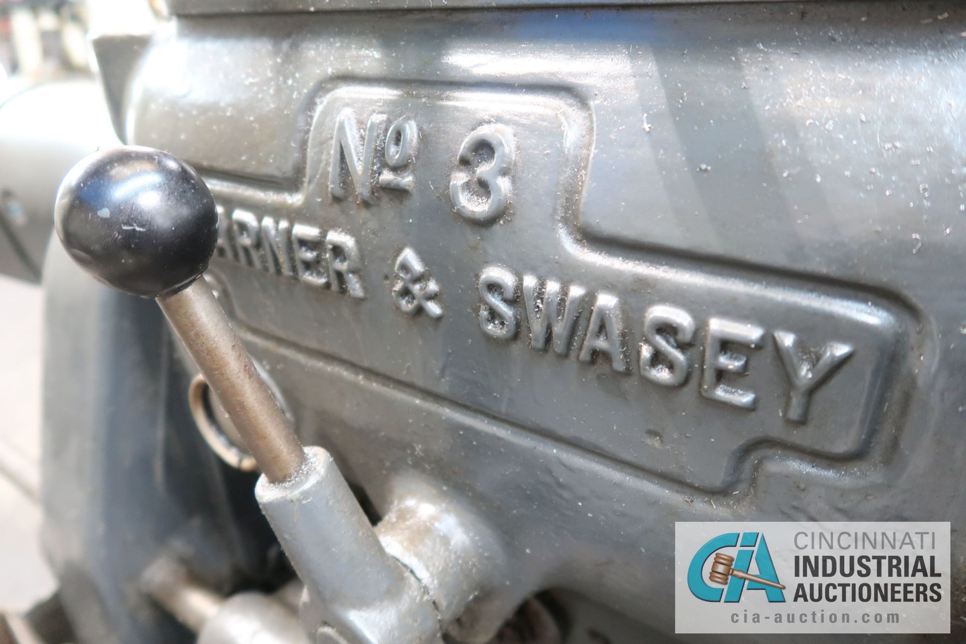 Lot 75 - (Former lot 28) WARNER AND SWASEY MODEL 3 LATHE; S/N 663697