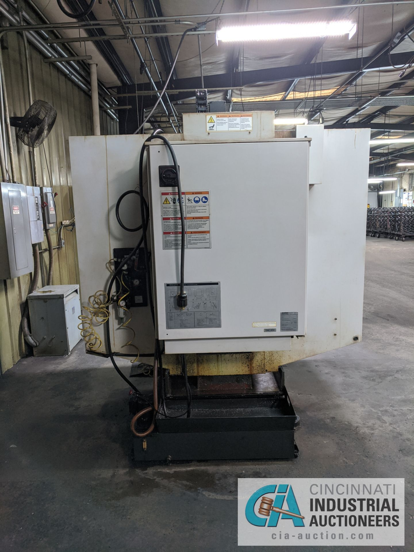 BROTHER MODEL TC-S2A-O CNC DRILL AND TAP MACHINE; S/N 113839 (NEW 2003) - Image 3 of 9