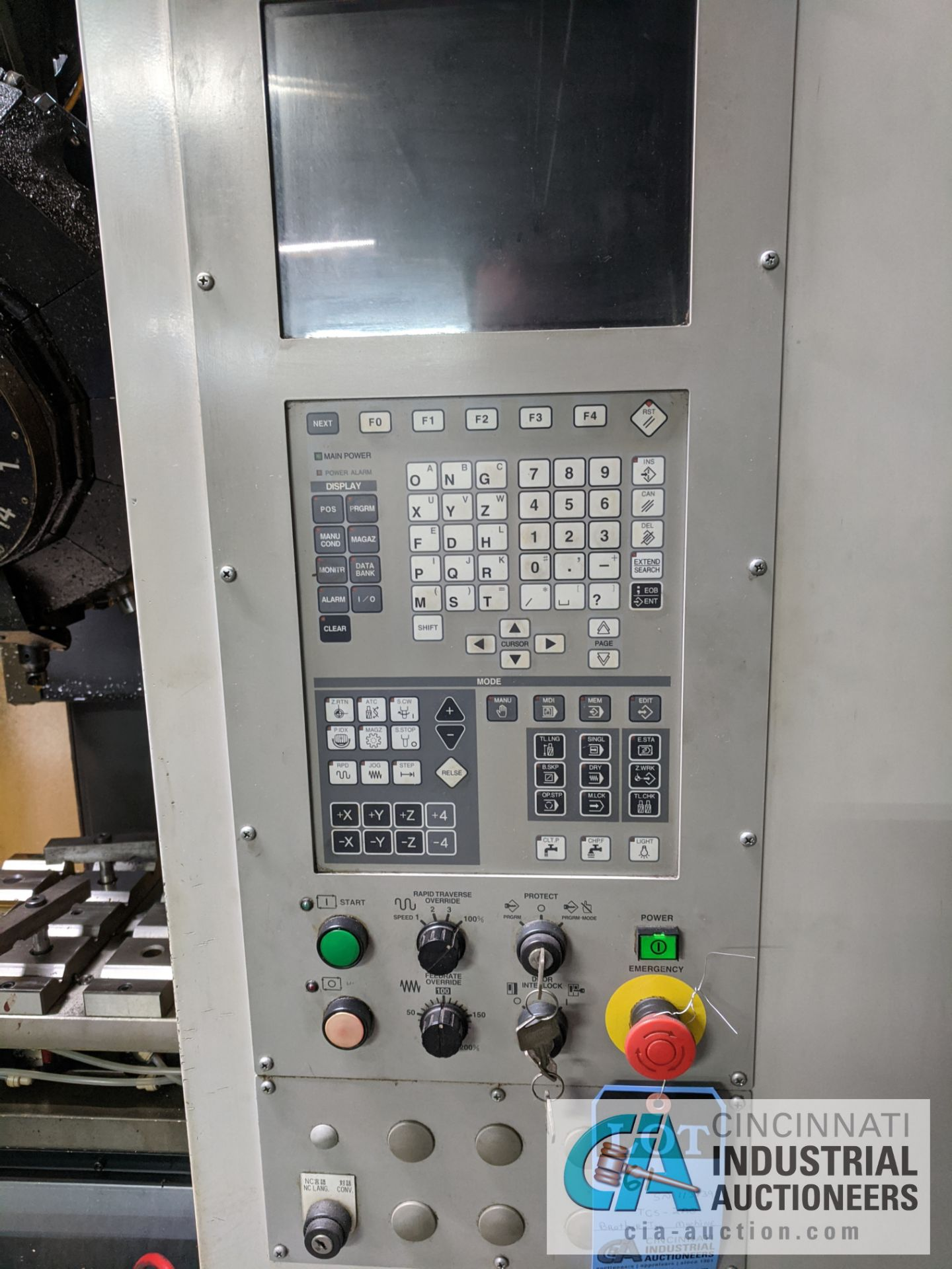 BROTHER MODEL TC-S2A-O CNC DRILL AND TAP MACHINE; S/N 113839 (NEW 2003) - Image 5 of 9