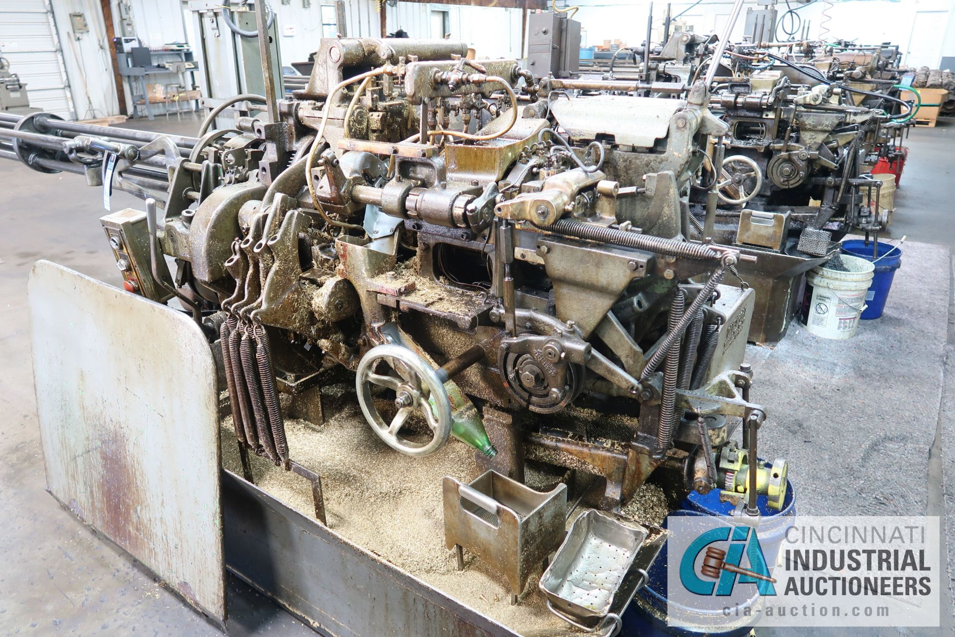 """Lot 4 - 3/4"""" DAVENPORT 5-SPINDLE SCREW MACHINE; S/N 95442 (NEW 3-1978), LONG BED, PICK OFF, DEBURR,"""