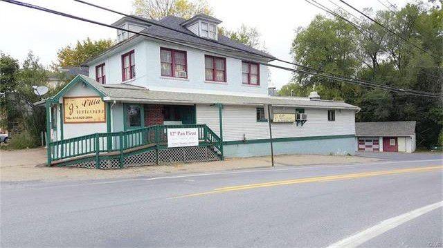 Real Estate Auction - Former Restaurant & Rented Apartment Plus 2 Bay Garage!